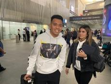 Saucedo vestirá la camiseta de Pumas en las próximas horas. Twitter/LeónLecanda