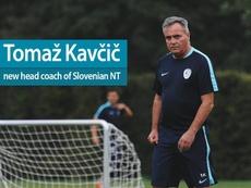 Kavcic, o novo selecionador da Eslovênia. NZSSi