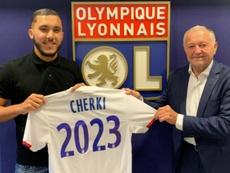 Cherki renovó hasta 2023. Twitter/OL