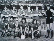 El once de la UD Salamanca con D'Alessandro, entre otros. Twitter