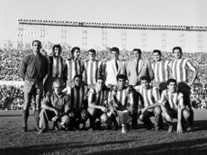 El Atleti ganó su primer trofeo internacional hace casi 60 años. AtleticoDeMadrid