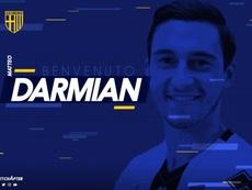 Darmian firma con el Parma hasta 2023. ParmaCalcio