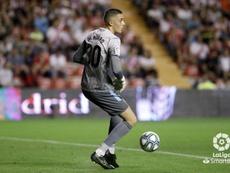 Morro jugó ante el Tenerife sus primeros minutos con el primer equipo. LaLiga