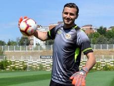 Dimitrievski es el positivo anunciado por el Rayo. EFE/Archivo