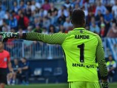El portero del Málaga se marchará a la Liga Turca. BeSoccer/AdriánBecerra