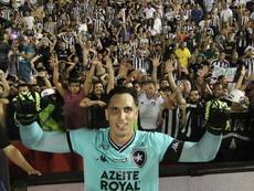 Un miércoles loco en la Copa Brasil por los penaltis. Twitter/Botafogo