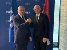 La Liga serbia también se suspendió. FSS