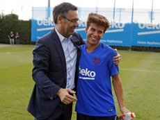 Quique Setién podría convocar a Riqui Puig ante el Granada. FCBarcelona