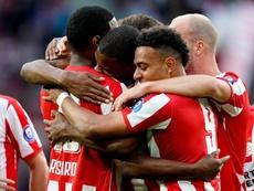El PSV se impuso ante el Groningen. Twitter/PSV