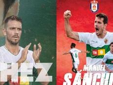 Manuel Sánchez firmó con el Real Ávila. Twitter/ElcheCF