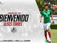 El Salamanca anunció la contratación de Ulises Torres. SalamancaCFUDS