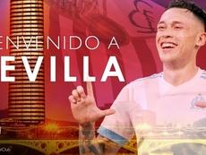 Séville engage Ocampos. SevillaFC