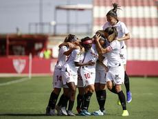 Mediapro explotará los derechos televisivos del Sevilla Femenino. Twitter/SevillaFC_Fem