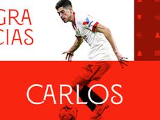Carlos Fernández, a la Real. SevillaFC