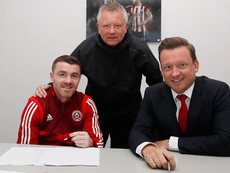 He has signed a contract extension. SheffieldUnited