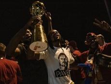 Sparta Prague won the cup. Twitter/ACSparta_CZ