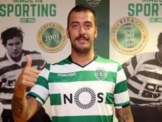 El guardameta jugará cedido en el SPAL. SportingCP