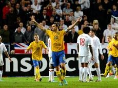 Ibrahimovic de volta à Seleção da Suécia? AFP