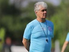 Julio Constantín se convierte en el nuevo técnico de Belgrano. Twitter/Belgrano