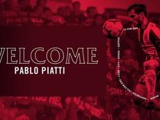 Piatti llega al Toronto. Twitter/TorontoFC