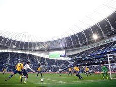 El equipo Sub 18 estrenó el Tottenham Hotspur Stadium. TottenhamHotspur