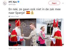 El Ajax dejó este mensaje entre líneas al Barça. Ajax