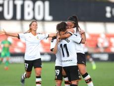 El Valencia espera seguir la buena línea ante el Betis. Twitter/VCF_Femenino