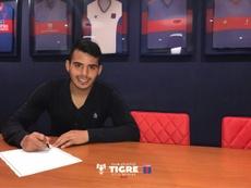 Javier Iritier se ha convertido en nuevo jugador de Tigre. ClubAtléticoTigre