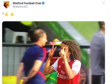 El tuit del Watford se hizo viral a los pocos minutos de hacerlo público. Twitter/WatfordFC