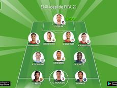 El mejor XI por posición con las nuevas medias de FIFA 21. BeSoccer