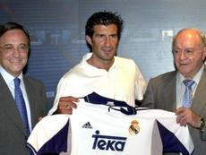 Figo cambió el Barça por el Madrid en el año 2000. EFE