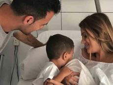 Levi es el nombre que la pareja ha elegido para su segundo hijo. Instagram