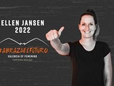 Ellen Jansen, nueva jugadora del Valencia CF. Twitter/VCF_Femenino