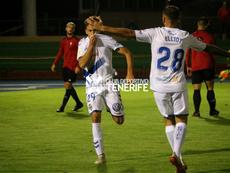 El Tenerife logró la victoria con autoridad. CDTenerife
