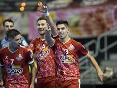 ElPozo ganó en su visita al Levante. Twitter/ElPozoMurciaFS