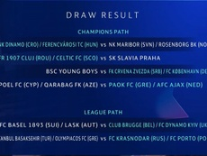 Ajax will have Cypriot or Azeri opposition if they beat PAOK. ChampionsLeague