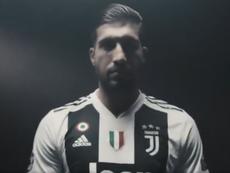 Emre Can rejoint la Juve. Twitter/JuventusFC