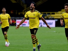 Emre Can's sole goal keeps Dortmund second . Twitter/BVB