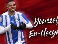 OFFICIEL : En-Nesyri rejoint le FC Séville. Capture/SevillaFC