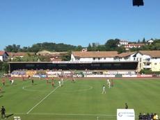 Encuentro amistoso entre el Osasuna y el Girondins Bordeaux. CAOsasuna