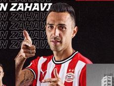 Zahavi é o novo reforço do PSV. Captura/PSV