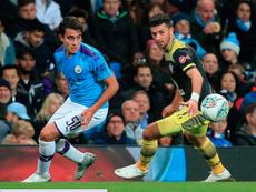 Eric García é o reforço desejado pelo Barcelona para a zaga. AFP