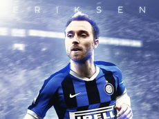 OFFICIEL : Christian Eriksen rejoint l'Inter Milan. AFP