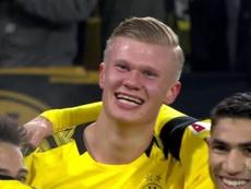 Los goles de Haaland en el Borussia Dortmund. DUGOUT