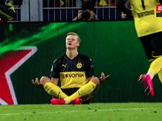 Haaland regala la vittoria al Dortmund. ESPN