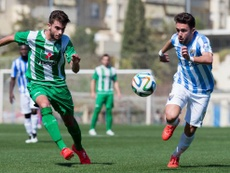 Ernesto Gómez se formó en las categorías inferiores del Málaga. MálagaCF
