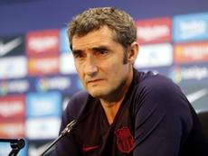 Valverde se quejó del alto número de penaltis. FCBarcelona