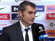 Valverde falou sobre a importância de Messi. Captura/Movistar