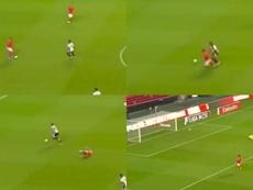 El grosero error de Otamendi en su debut con el Benfica. Captura/BTV