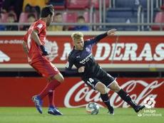 Escassi cree que si sigue en el Numancia no podrá fichar por el Málaga. LaLiga